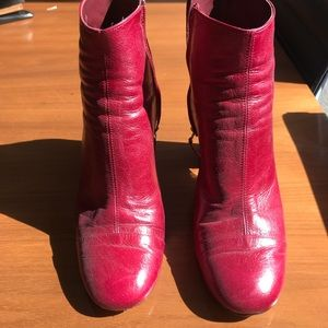 Zara Shoes - Zara boots in leather! Size 41
